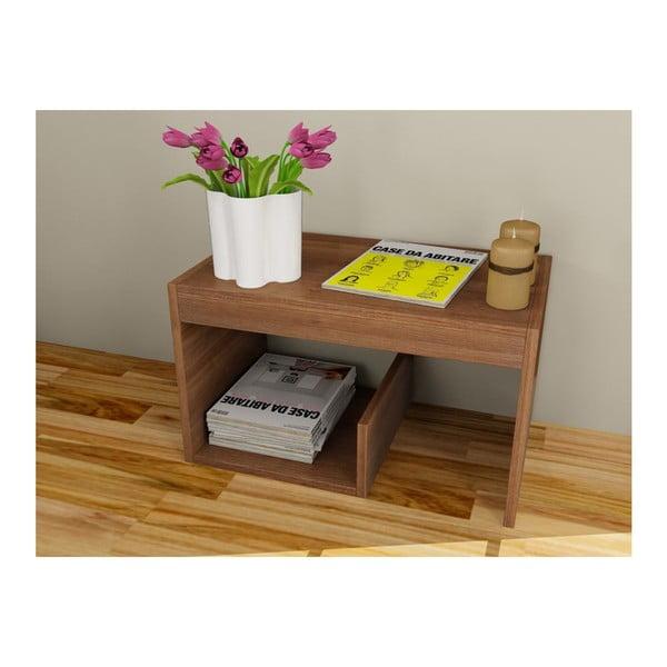 Multifunkční konferenční stolek Menekse Walnut