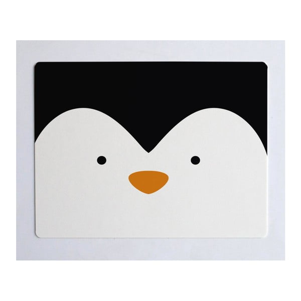 Podložka na stůl Little Nice Things Penguin, 55 x 35 cm
