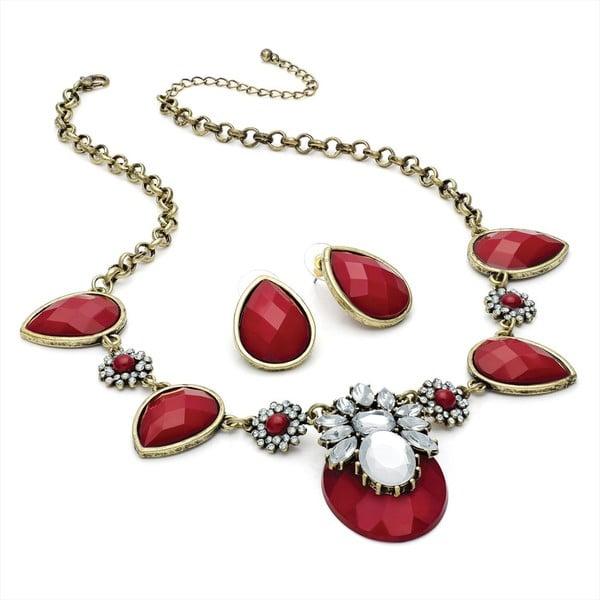 Set náhrdelník a náušnice Samantha