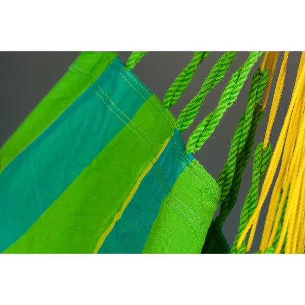 Houpací křeslo Sonrise, zelená