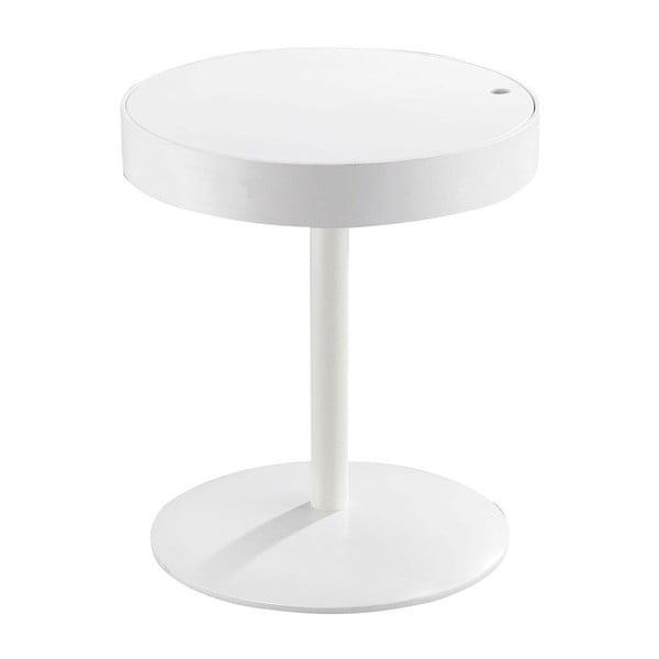 Lampang fehér tárolóasztal, elfordítható lappal - Design Twist