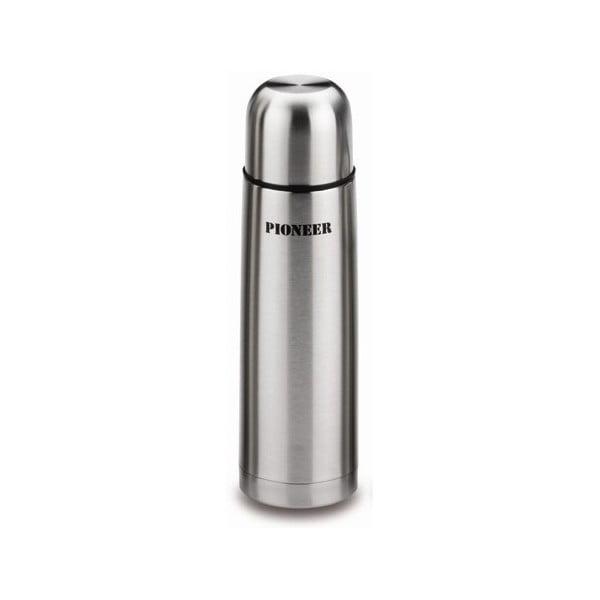 Stříbrná termoska Pioneer Vacuum,500ml