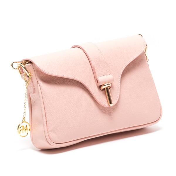 Kožená kabelka Nerezza, růžová