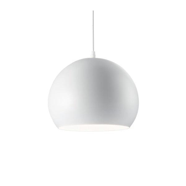 Bílé závěsné svítidlo Evergreen Lights Fahar