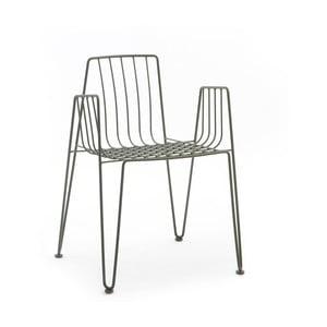 Zelená židle Mobles 114 Rambla