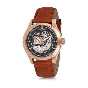 Pánské hodinky s koženým řemínkem Bigotti Milano Stormy