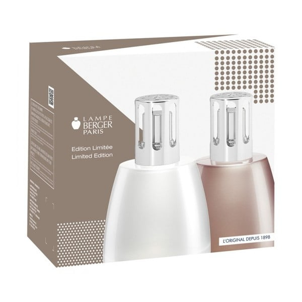 Katalytická lampa Spirit Grey + Cukroví z Provence 180 ml
