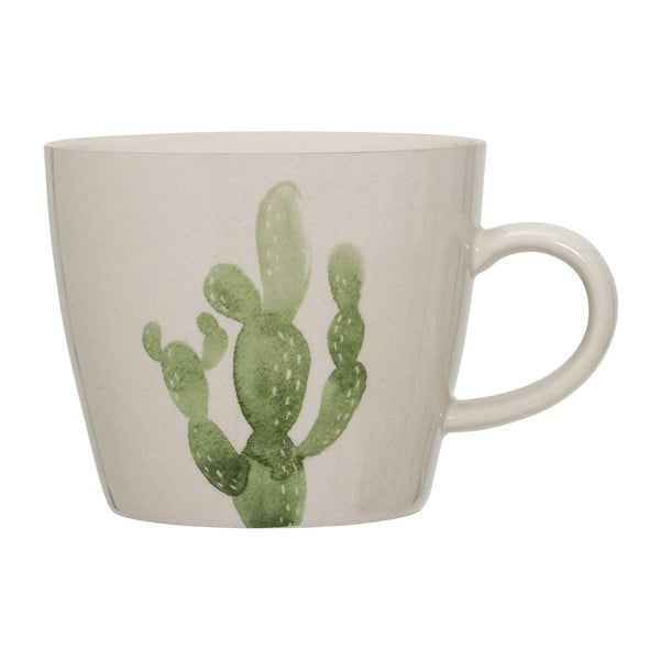 Kubek kamionkowy Bloomingville Cactus, 300ml
