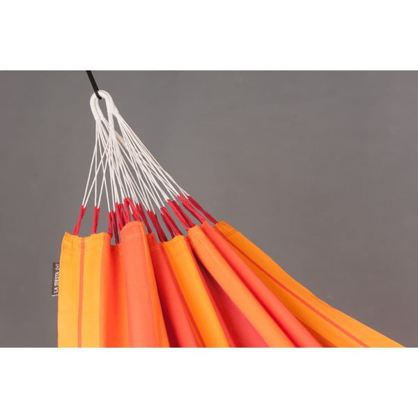Houpací síť Orquidea pro jednoho, oranžová