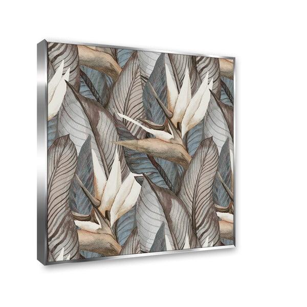 Tablou imprimat pe pânză Styler Tropical Flowers, 67 x 87 cm