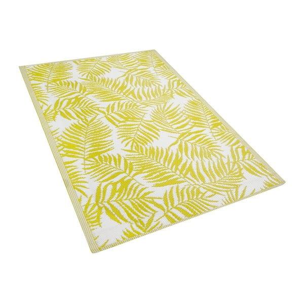 Covor pentru exterior Monobeli Casma, 120 x 170 cm, galben
