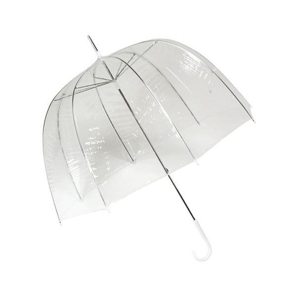 Umbrelă Ambiance Falcone Cloche, ⌀ 77 cm, transparent