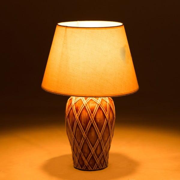Keramická stolní lampa Brownsie