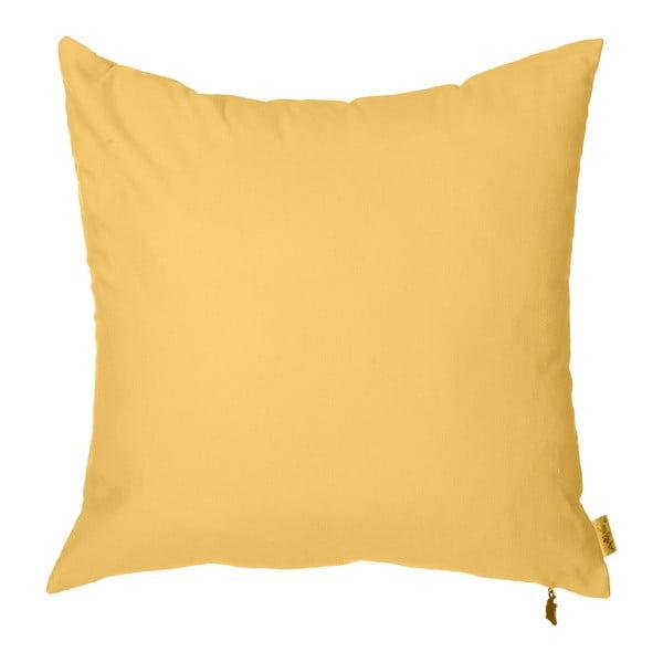 Povlak na polštář Apolena Denise 40x40cm, žlutý