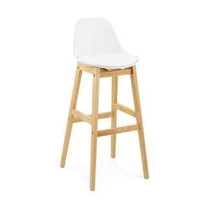Bílá barová židle Kokoon Elody, výška102cm