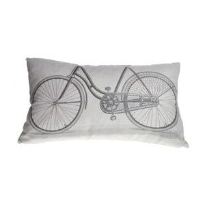Šedý polštář Ewax Bicicleta, 50 x 30 cm