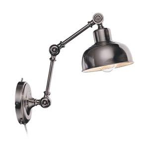 Stříbrné nástěnné světlo Markslöjd Grimstad
