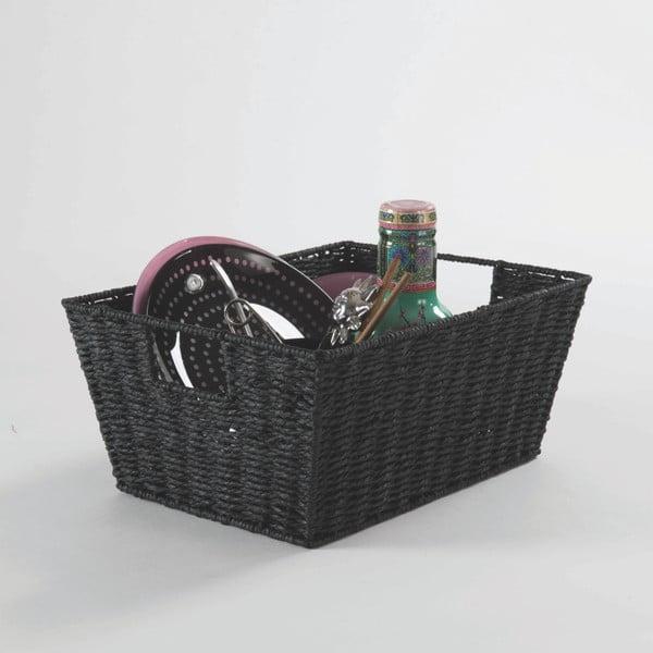 Paprop fekete tárolókosár, 31 x 24cm - Compactor