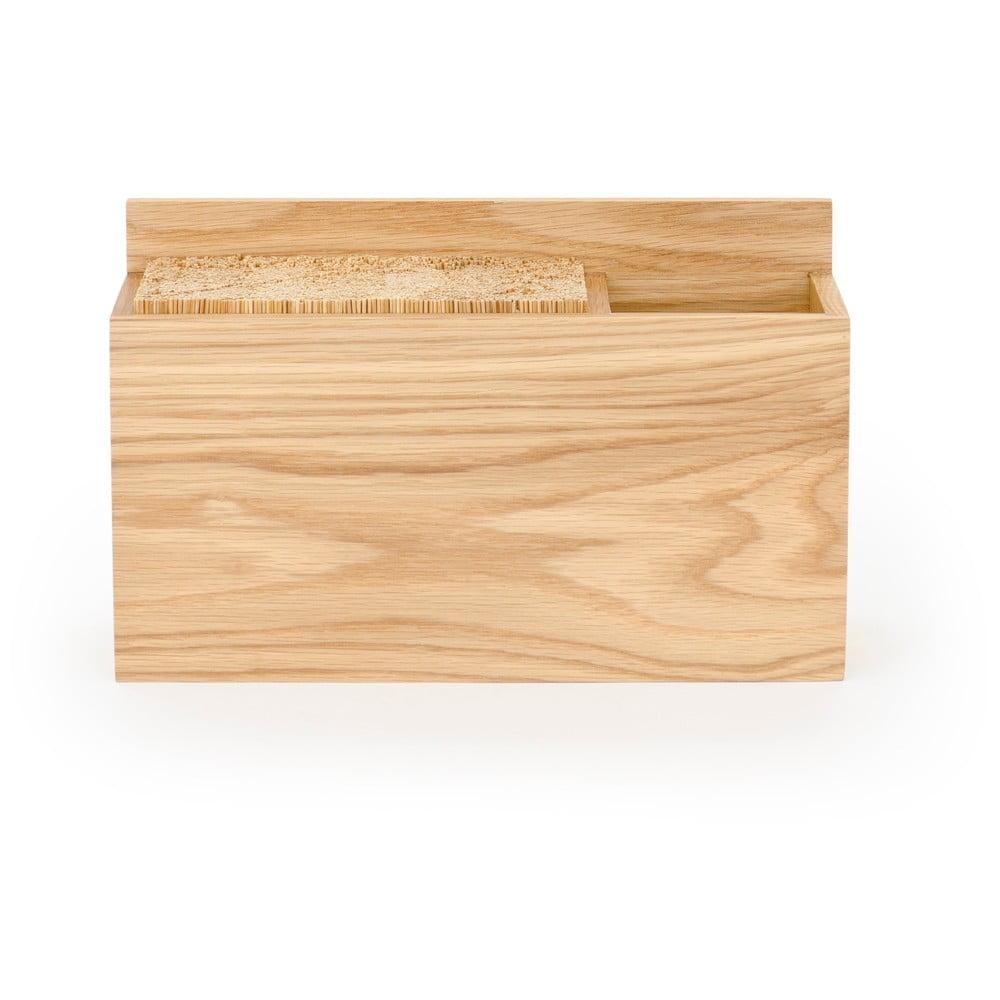 Blok na kuchyňské nože z dubového dřeva Wireworks