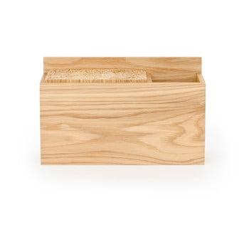 Bloc din lemn de stejar pentru cuțitele de bucătărie Wireworks