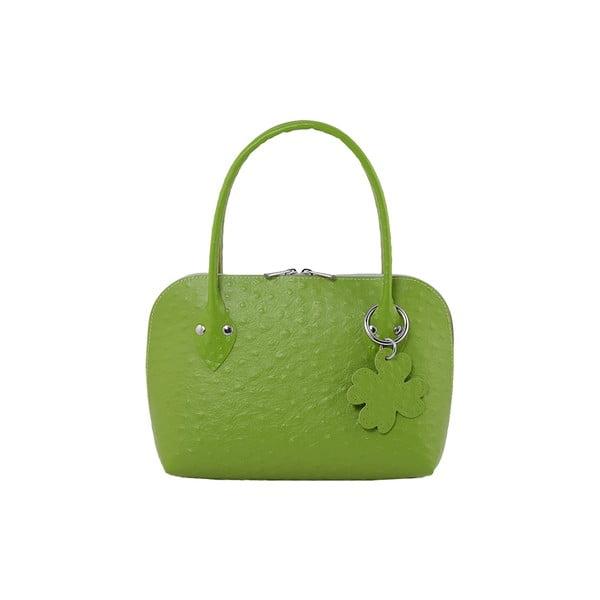 Kabelka Evita Ostrich Green