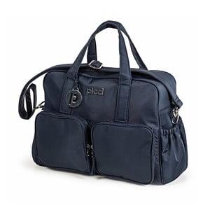 Tmavě modrá taška s přebalovací podložkou Picci