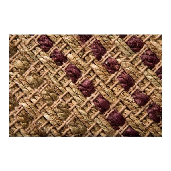 Koberec Seagrass Terracotta, 120x170 cm