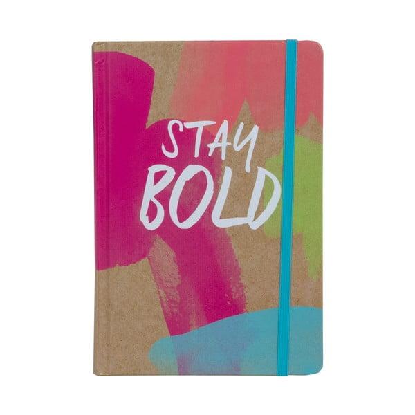 Zápisník Tri-Coastal Stay Bold