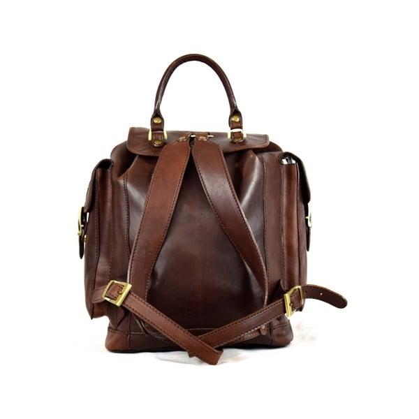 Kožený batůžek Santo Croce 8800 Dark Brown