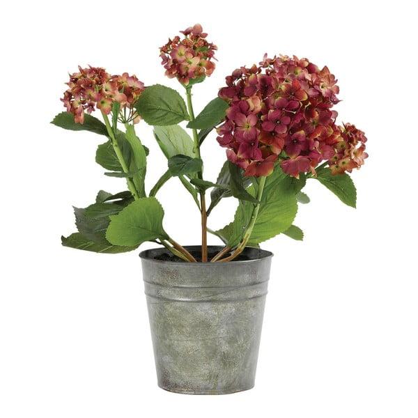 Umělá květina v květináči Hortensia