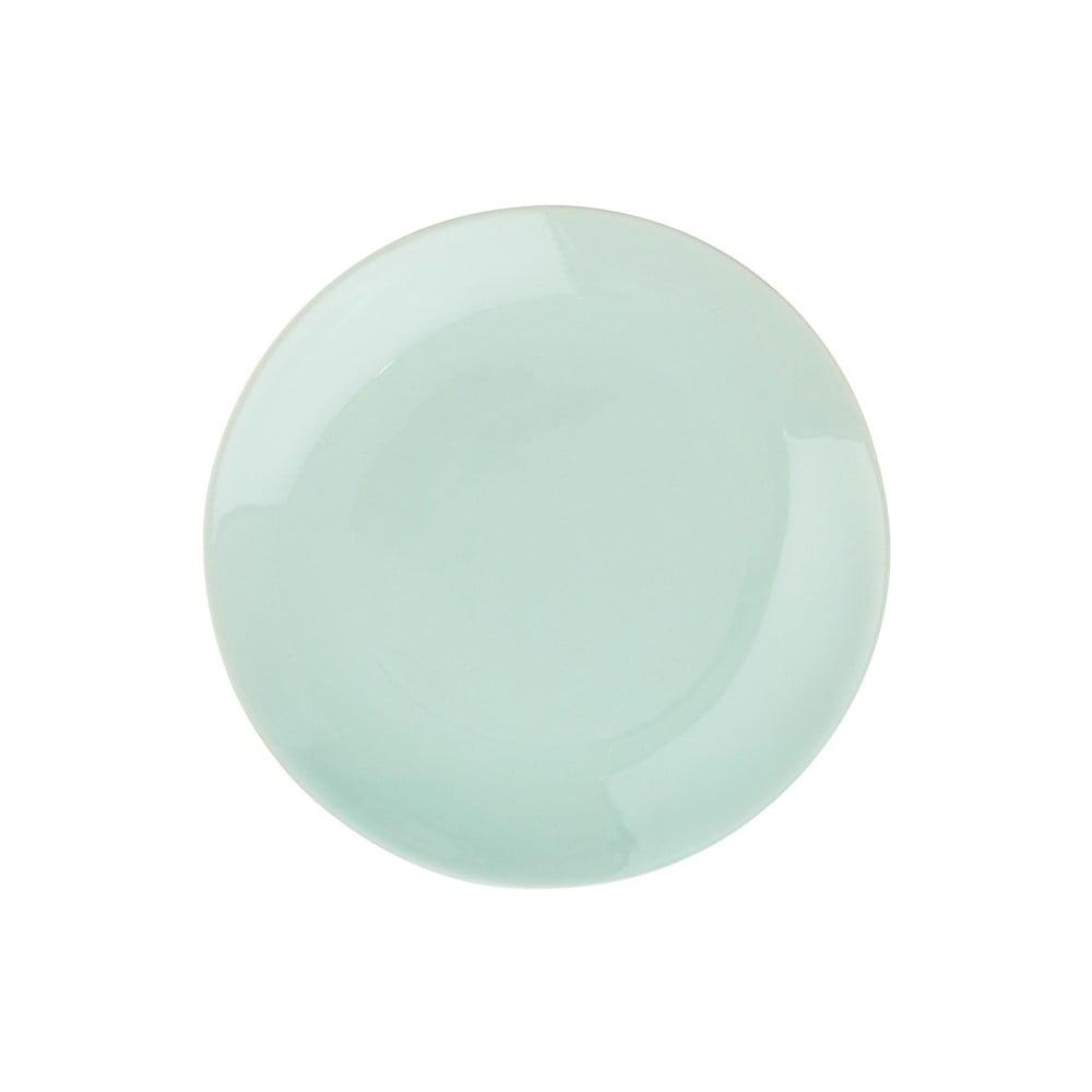 Mátově zelený keramický talíř Butlers Sphere, ⌀20,5cm