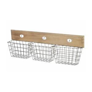 Nástěnné košíky Wire
