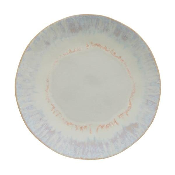 Bílý kameninový talíř Costa Nova Brisa, ⌀26,5 cm