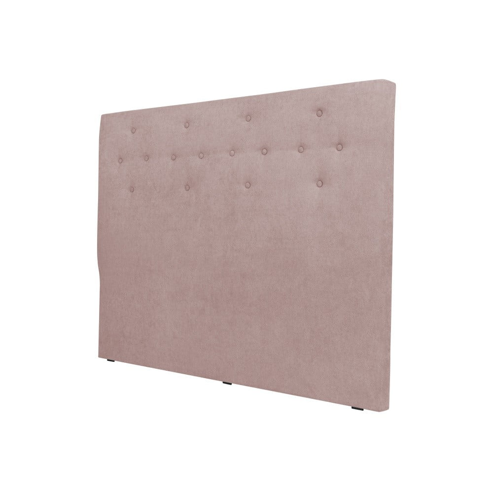 Světle růžové čelo postele Cosmopolitan design Barcelona, šířka 142 cm