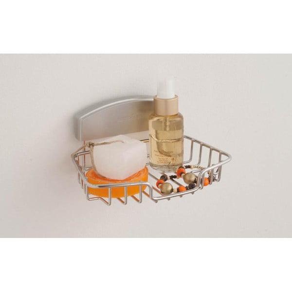 Nástěnný držák na mýdlo bez nutnosti vrtání Compactor Gel, 18x11cm
