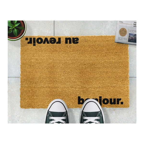 Rohožka Artsy Doormats Bonjour Au Revoir,40x60cm