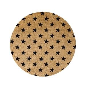 Kulatá rohožka Artsy Doormats Stars, ⌀70cm