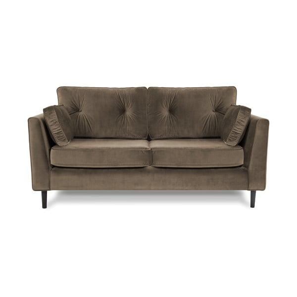 Brązowa sofa trzyosobowa VIVONITA Portobello