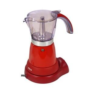 Červený kávovar JOCCA Espresso
