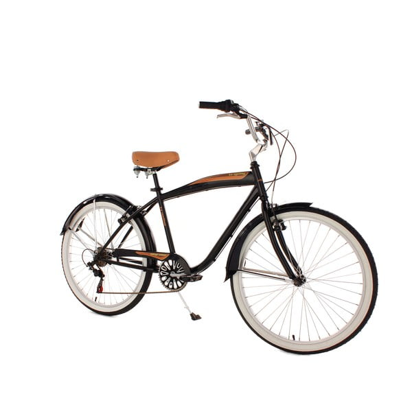 Kolo Beachcruiser Vintage Black, 26""