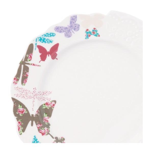 Talíř Krauff Butterfly, 21cm