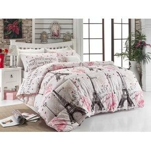 Cuvertură matlasată pentru pat matrimonial Petronela, 195 x 215 cm