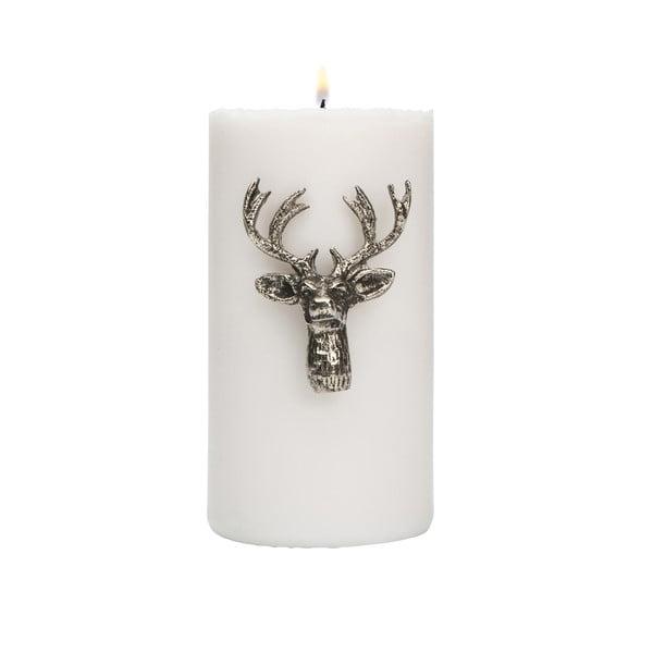 Ozdoba na svíčku Deer Silver