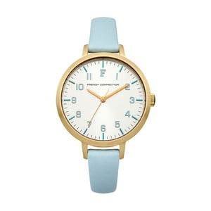 Modrozlaté dámské hodinky French Connection Céline
