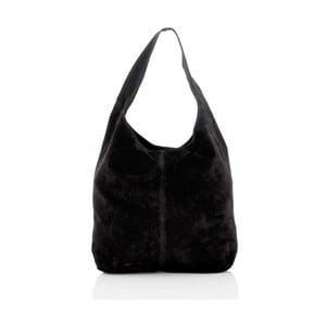 Černá kožená kabelka Glorious Black Monique