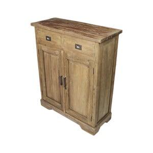 Komoda z teakového dřeva HSM Collection Tula