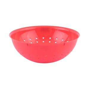 Červený plastový cedník Tantitoni Candy, ⌀ 20 cm