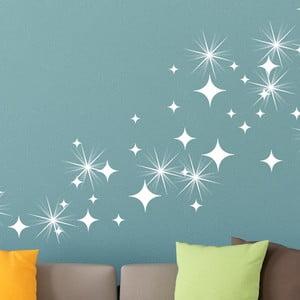 Sada 50 samolepek se Swarovski elementy Fanastick White Star