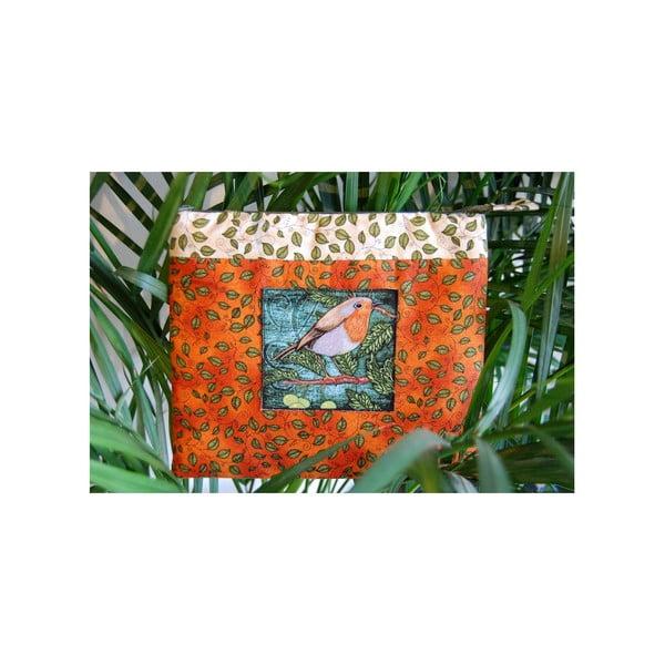 Kosmetická taštička z chráněné dílny Via Roseta, ptáček