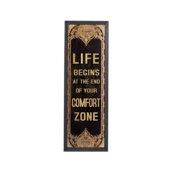 Nástěnný obraz Comfort Zone, 125x42 cm